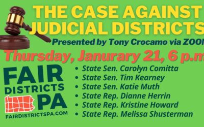 Comitta, Fair Districts PA to Hold Virtual Event on Judicial Gerrymandering