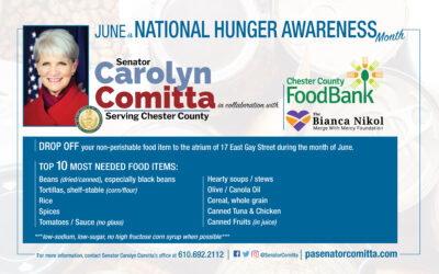 Comitta Calls on Community to Support Food Drive